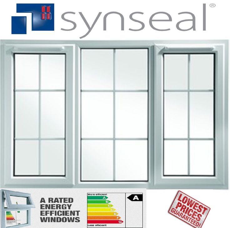3 panel upvc window with georgian bar ebay cheap upvc for Cheap double glazing