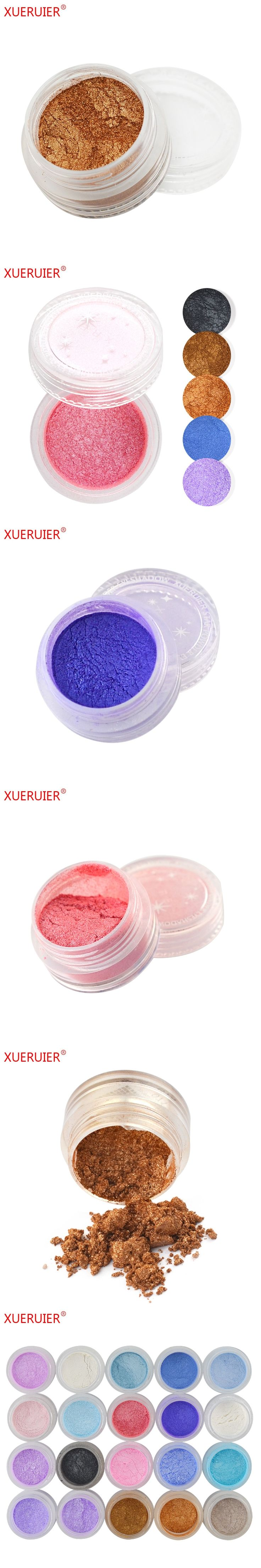 Natural Matte Glitter Eye Shadow Palette Makeup 20 Colors Naked Eyeshadow XUERUIER Brand Nude Shimmer Pigment Eyeshadow Powder