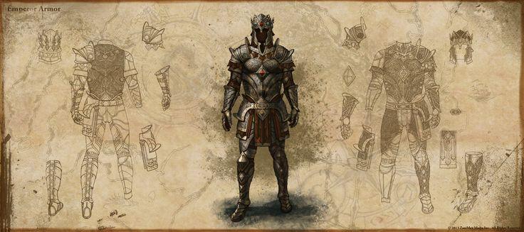 elder scrolls online imperial armor - Google Search