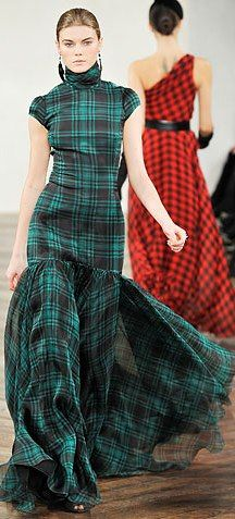Love Tartan!  Josephine Vogel. - Have I posted this before? Don't care. Love it.