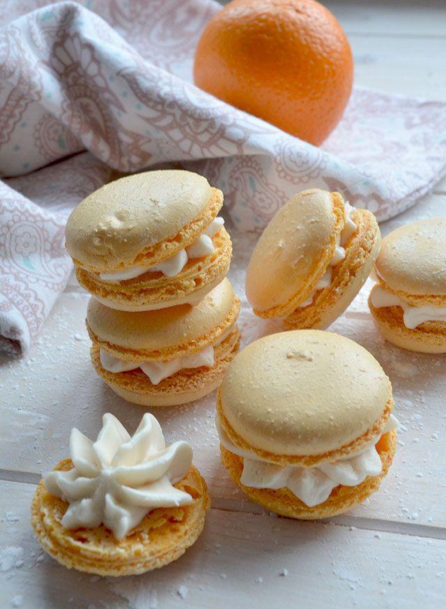 Making Orange&Vanilla Macarons (11)