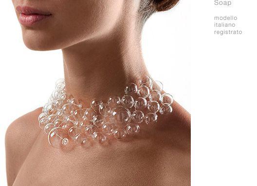 Marina e susanna sent oggetti in vetro di murano for Gioielli design