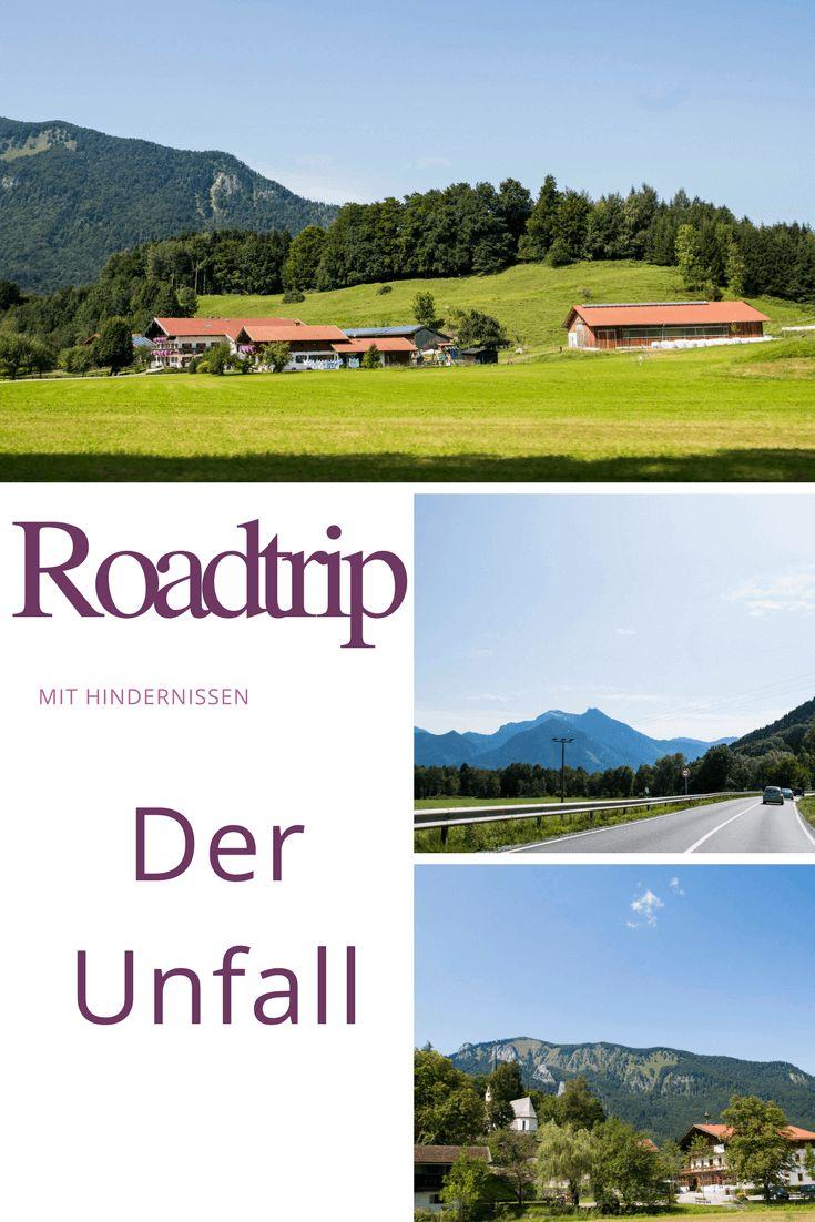 Roadtrip mit Hindernissen - Tag 1: Der #Unfall  Unser #Roadtrip ist alles andere als gemütlich gestartet. Der etwas andere Reisebricht, zu finden auf meinem Blog.  #Reise #Europa #travel #europe #Reiseblog #Rundreise