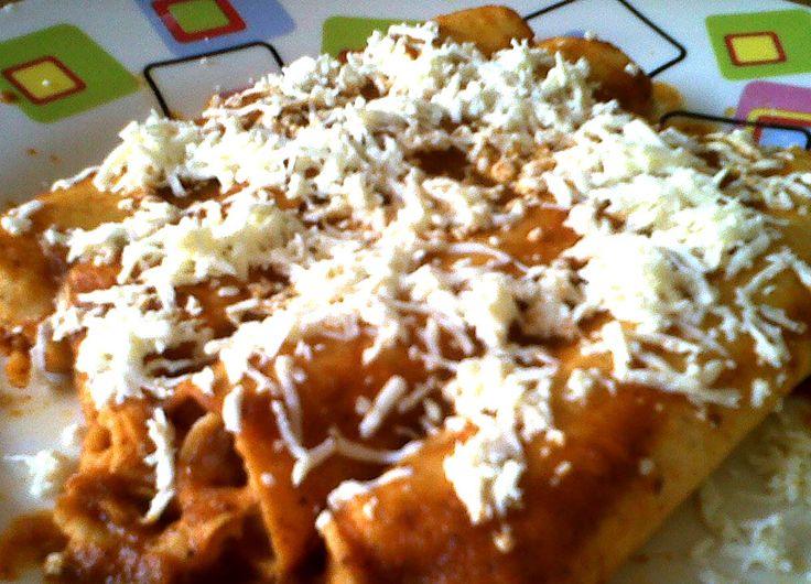 Receta de enchiladas veracruzanas