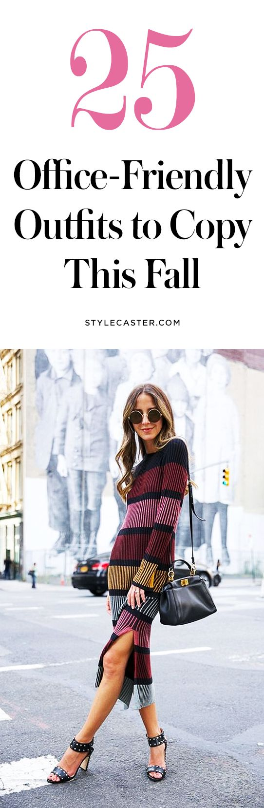 25 work outfits to copy this fall | office attire | fall / winter work outfit ideas | @stylecaster