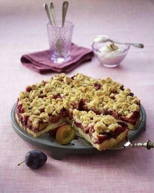 Pflaumenkuchen mit Zimtstreuseln Rezept - Chefkoch-Rezepte auf LECKER.de | Kochen, Backen und schnelle Gerichte