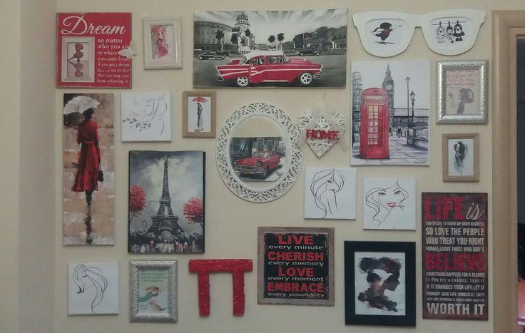 Art wall gallery