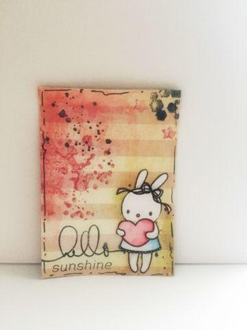 chicca craft e i little mice: ATC con vincolo !