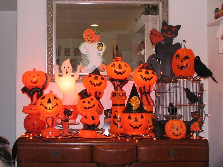 Vintage Halloween Blow Molds 2013