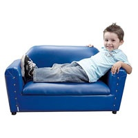 Alexander Double Couch - Royal Blue