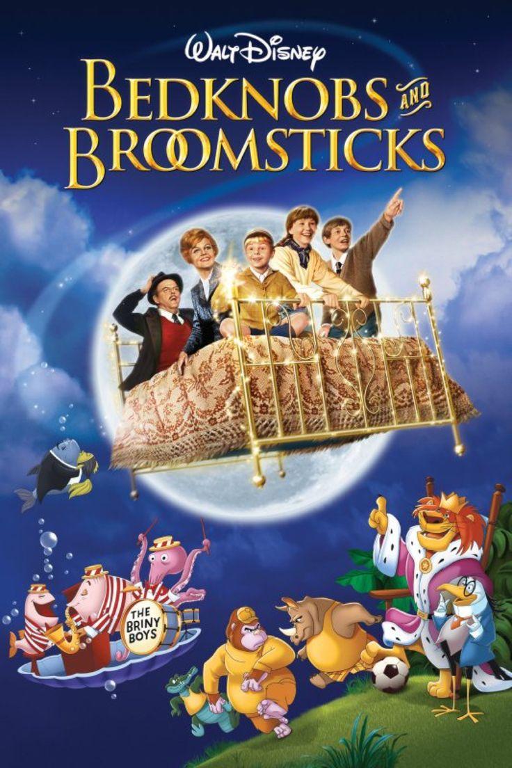 Bedknobs and Broomsticks (1971) Starring Angela Lansbury, David Tomlinson