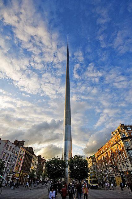The Spire of Dublin, also known as the Monument of Light (Irish: An Túr Solais)