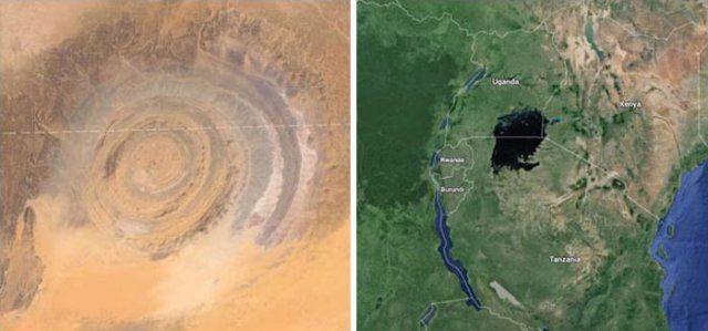 Autor bada afrykańskie leje i znajduje dowody tego, że drugiego co do wielkości…