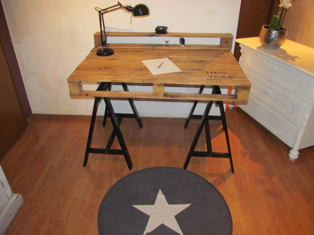 Schreibtische - Palettentisch Design Schreibtisch Palettenmöbel*** - ein Designerstück von La--Maison bei DaWanda