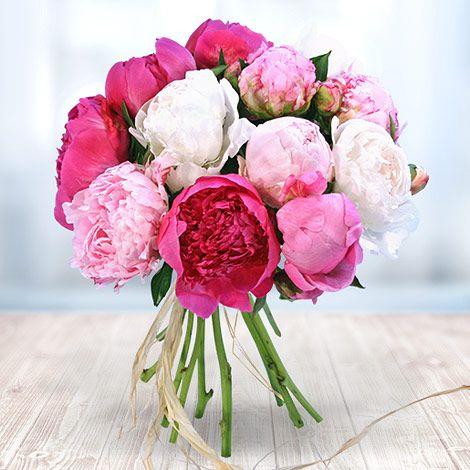 Pfingstrosen – eine ganz besondere Blütenpracht! #Valentins #Blumen #Geschenke #Deko