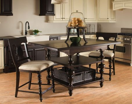 Paula Deen Kitchen Gathering Table Tobacco Finish Is A Part Of Paula Deen  Furniture Collection. Available At Knight Furniture Showrooms In Florence,  SC.