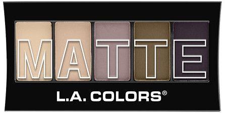 L.A. Colors 5 - color Matte Eyeshadow