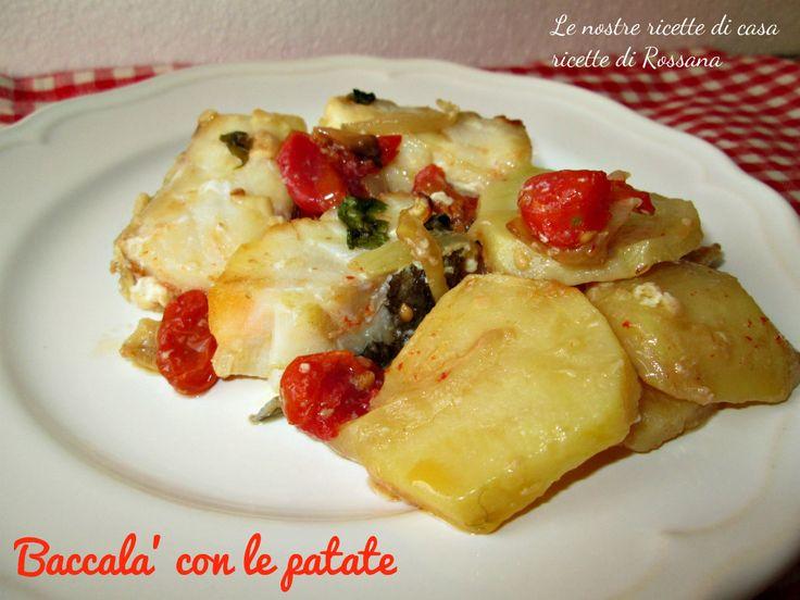 Baccalà con le patate, ricetta tipica campana