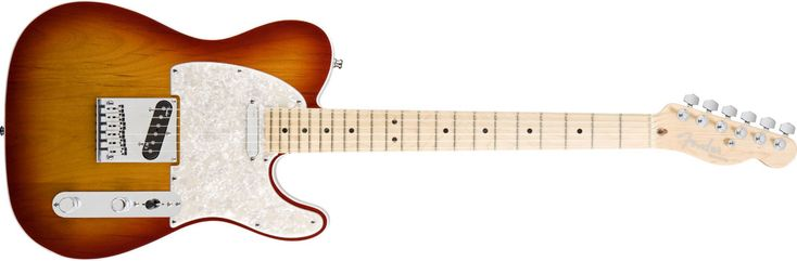 I've been playin you every monday and i cant get you off my mind  Fender American Deluxe Telecaster (Aged Cherry)