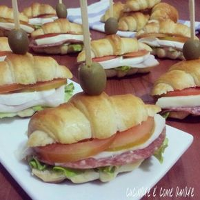 cornetti salati da buffet