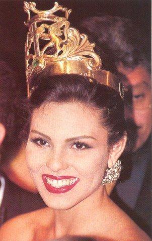 Carolina Gomez - the firt runner up Miss Universe 1994
