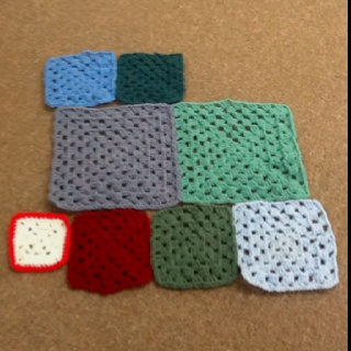 Crochet granny squares: Crochet Blankets, Crochet Granny Squares, Blankets Ideas