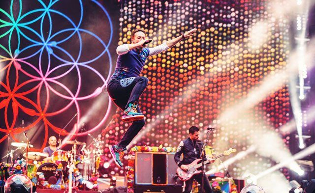 Coldplay announces new 2017 tour dates. #coldplay
