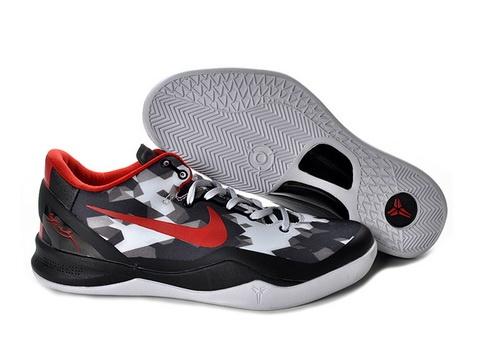 Nike Zoom Kobe 8 2013 Elites Usa White Black Red 555035 101 half off