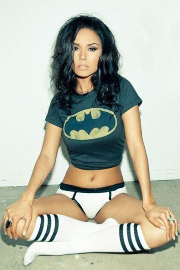 Sexy Photo: Batgirl With Socks: I want a photo like this one too!