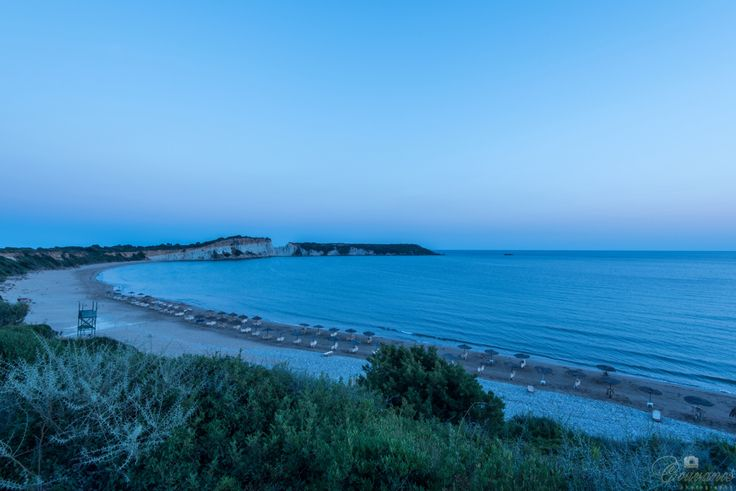 Gerakas turtle beach in Zante island. When the sun goes down this place look fantastic...