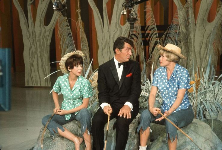 1960s DEAN MARTIN, JOANIE SOMMERS, JANIS PAIGE On DEAN MARTIN SHOW Orig Slide gp