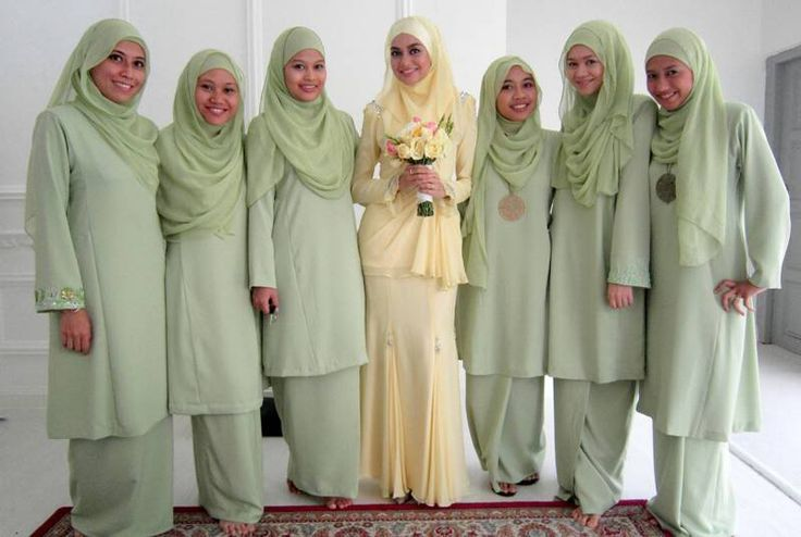 36 Best Images About Muslim Bridesmaid On Pinterest