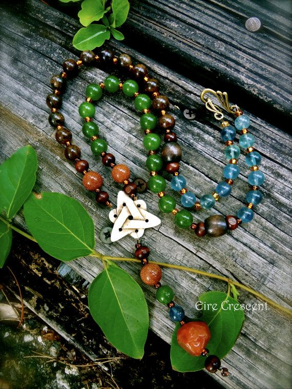Songs of the Earth Celtic Prayer Beads by EireCrescent on Etsy, $49.99