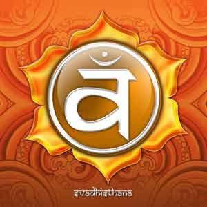Propriétés du chakra sacré, le chakra orange