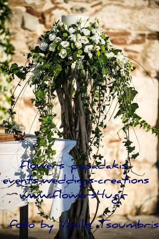 flowers papadakis  weddings -events-decorations  send flowers to Greece Athens now! same day delivery  info@flowers4u.gr