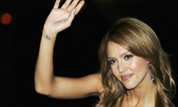 tatuajes famosos: Jéssica Alba