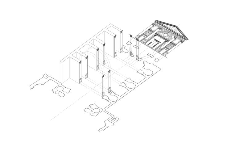 Alberti - formal analysis by Katie Stranix, 2011 (Peter Eisenman's Yale studio)
