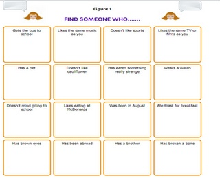 Getting to know you people bingo - another getting to know you game for kids