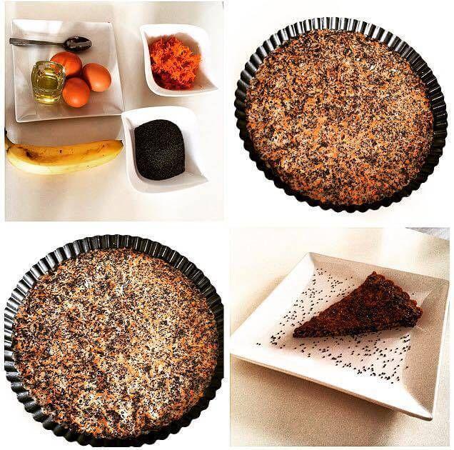 Makový koláč - Fitness Recepty