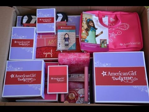 Opening My Surprise American Girl Doll! - YouTube