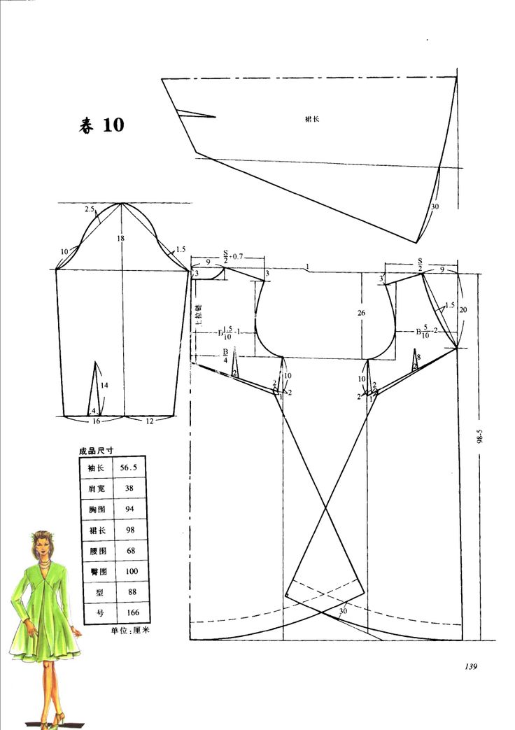 Sewing dress n pattern 1998