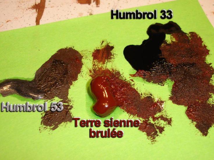 Trucs et astuces - Peinture - Imitation rouille sur vos maquettes (par Jor9) - DIORAMA MAQUETTE MILITAIRE MAQUETTES CHARS MAQUETTES AVIONS F...