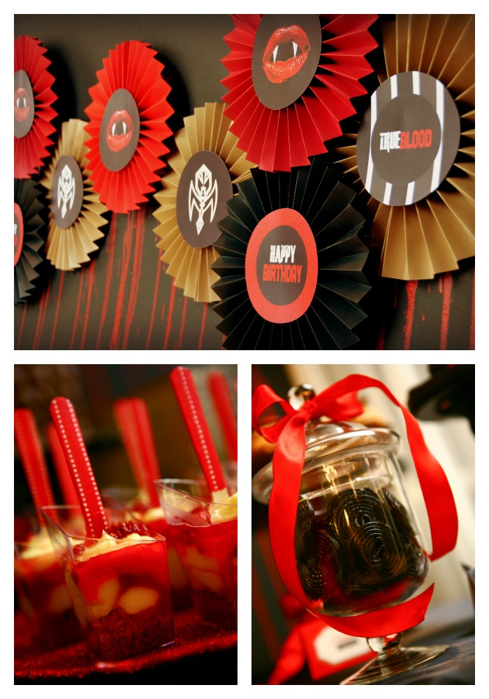 True Blood Vampire Party - Deliciously Darling Events