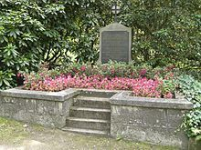 Grave of Wilhelm Röntgen at Alter Friedhof (old cemetery) in Gießen