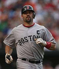 List of Red Sox Captains - http://en.wikipedia.org/wiki/List_of_Boston_Red_Sox_captains