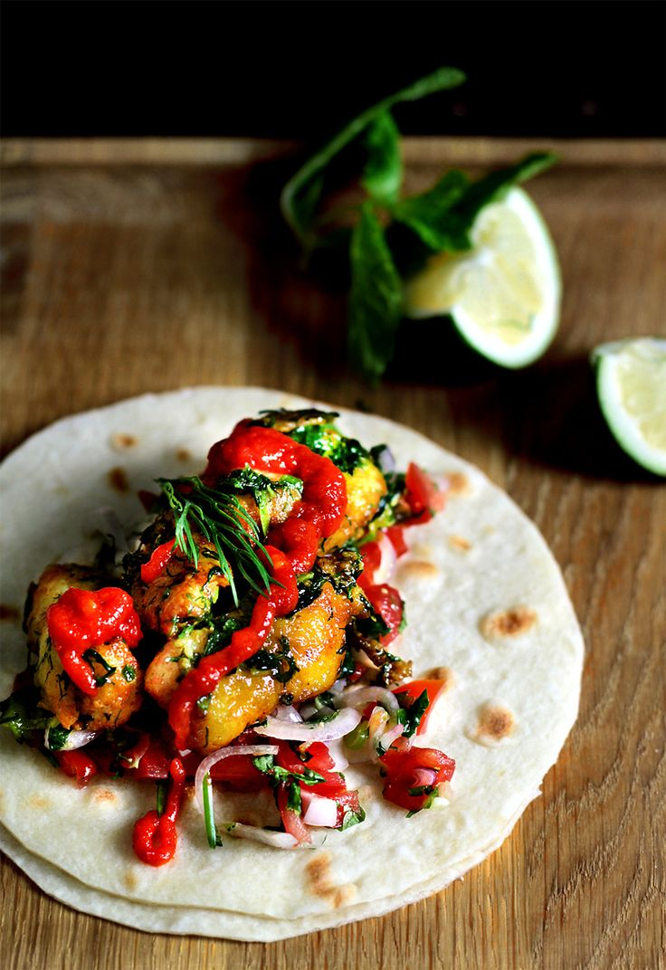Vietnamese Fish Tacos