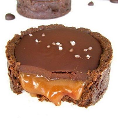 Chocolate Salted Caramel Tart | My Fav Food | Pinterest