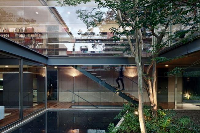 Dom z dziedzińcem w Sao Paulo | www.archiweb.pl