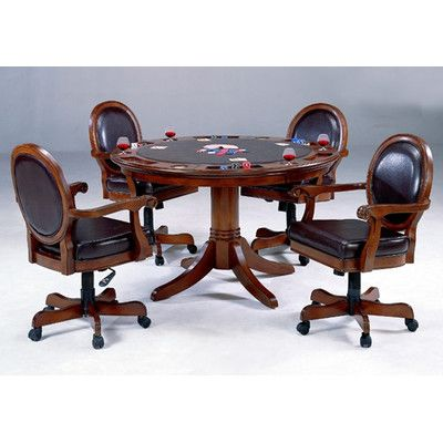 poker dining table with chairs chair sets