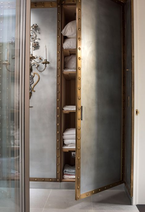 Rupert Bevan - Interior Design London | Interior Finishes - Patinated Zinc Cladding